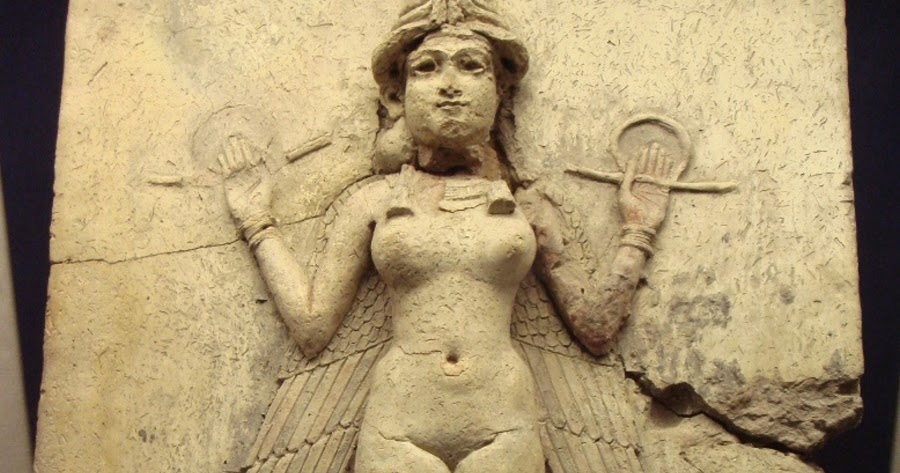 This image has an empty alt attribute; its file name is inanna-sumerian-god-annunaki.jpeg